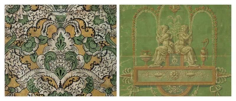 papier peint 1700